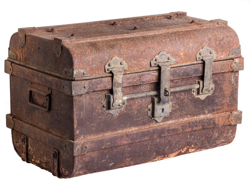 Old Trunk Stock Photo