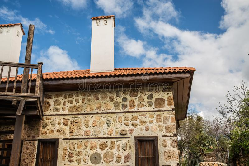 Old Turkish House stock photography