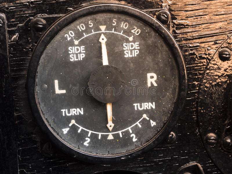 Old turning indicater royalty free stock photography
