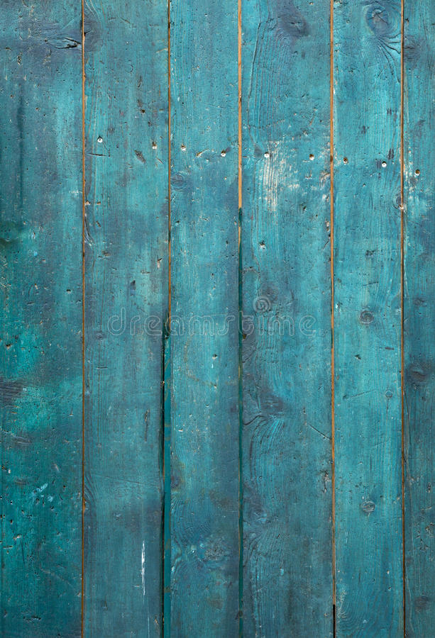 Old Turquoise wood stock photography