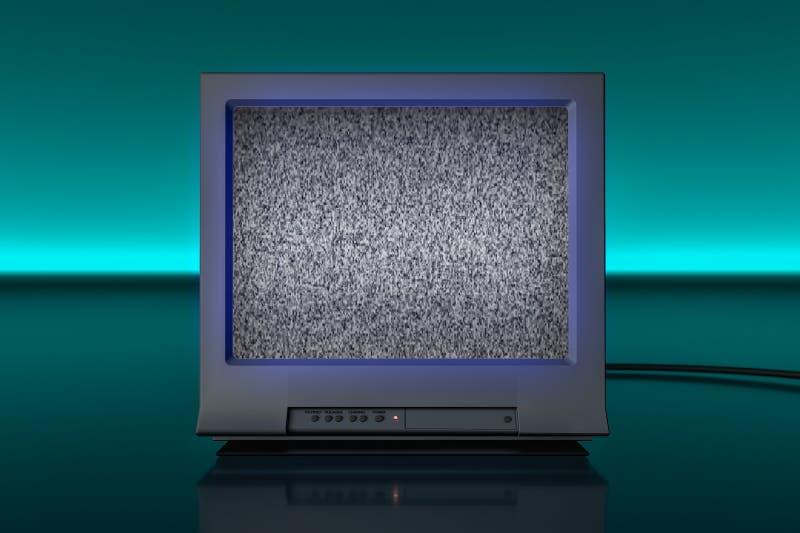 Noise Old Retro Tv Stock Illustrations – 257 Noise Old Retro Tv