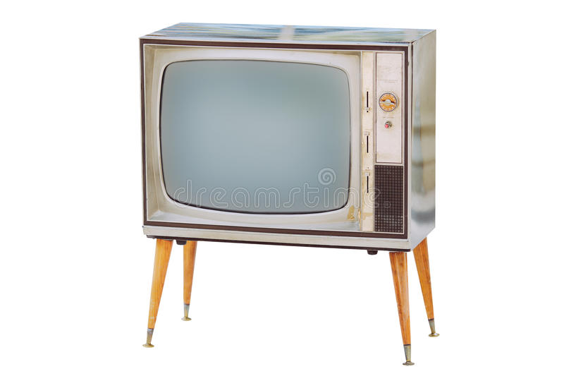 old tv vintage στοκ φωτογραφία με δικαίωμα ελεύθερης χρήσης