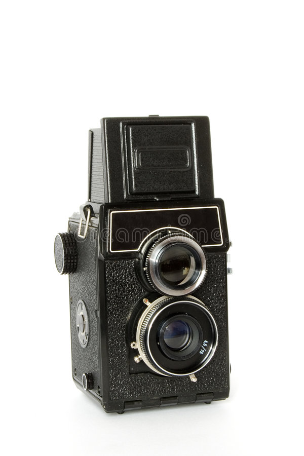 Download Old Twin-lens Reflex Camera Stock Image - Image: 1966271