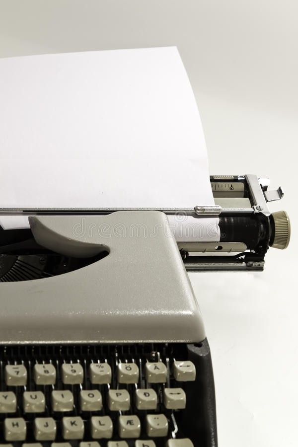 Download An old typewriter stock image. Image of business, news - 16053701