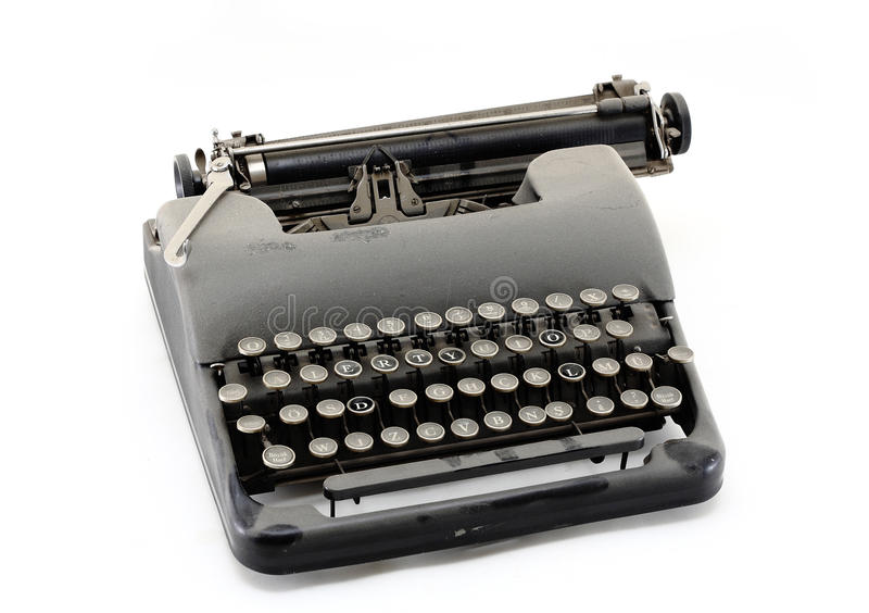 Download Old typewriter stock image. Image of data, sell, button - 16785927