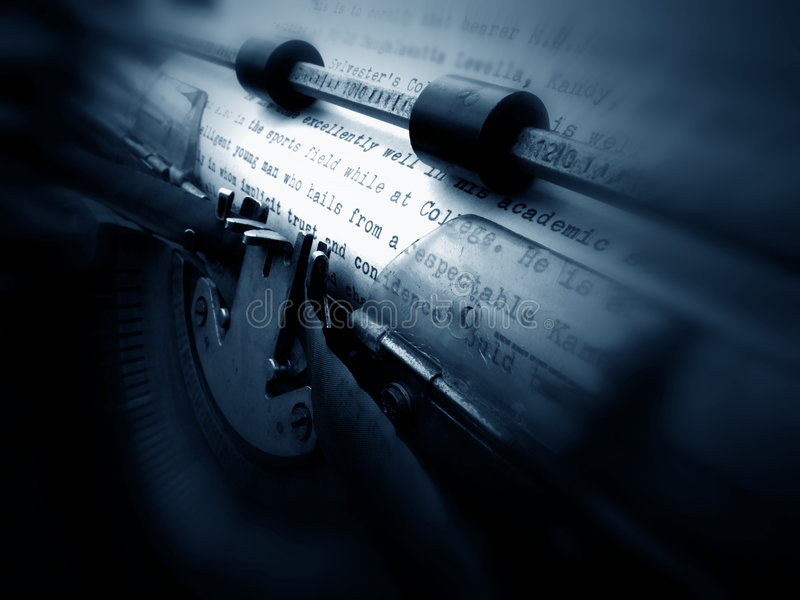 Download Old Typewriter Royalty Free Stock Photo - Image: 4480165