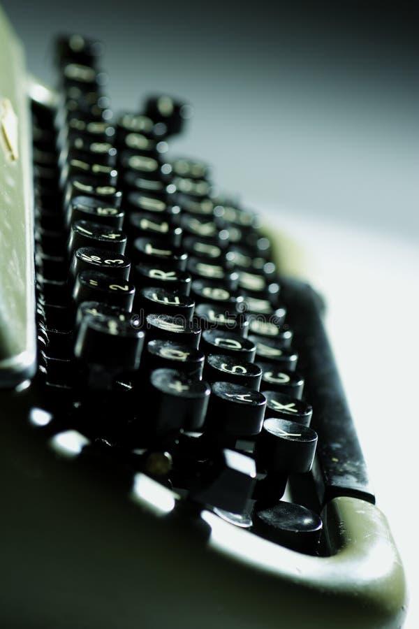 Old typewriter stock photos