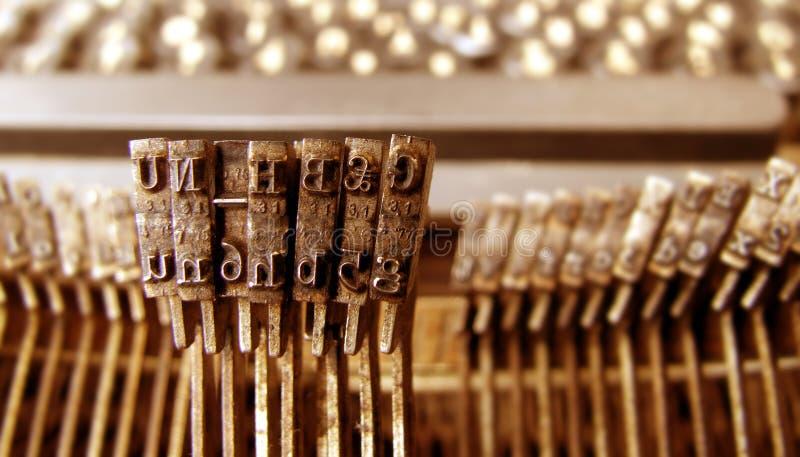 Old Typewriter royalty free stock image