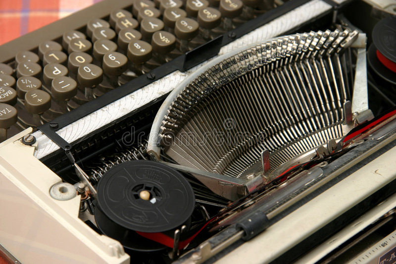 Download Old typewriter stock image. Image of keys, piece, heavy - 626437