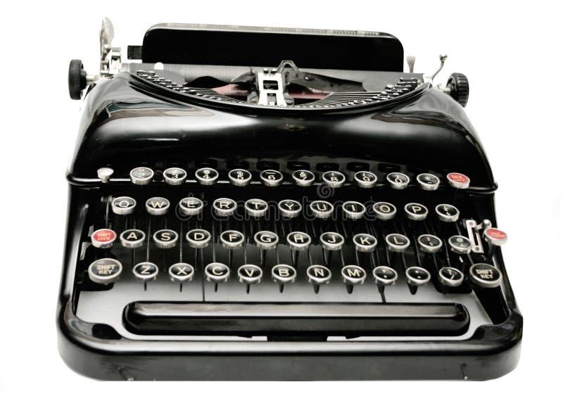 Old Typewriter II. Old Typewriter Isolated on White stock photography