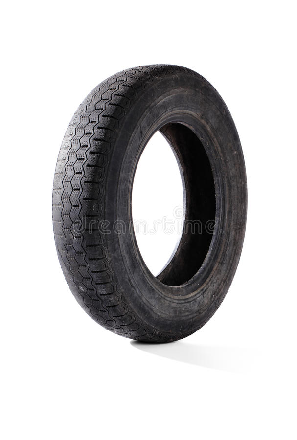 Old tyre stock images