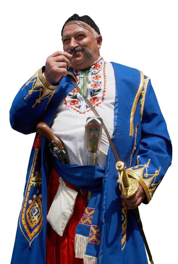 Old Ukrainian Cossack 9 Stock Photo