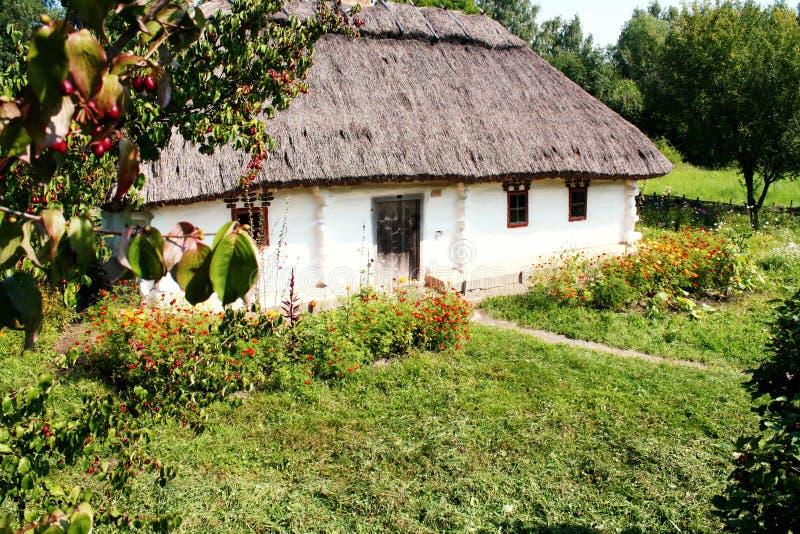 Old ukrainian house, Pirogovo; Kiev, Ukraine stock image