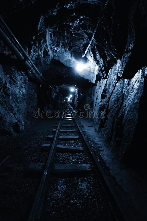 Old Uranium mine royalty free stock images