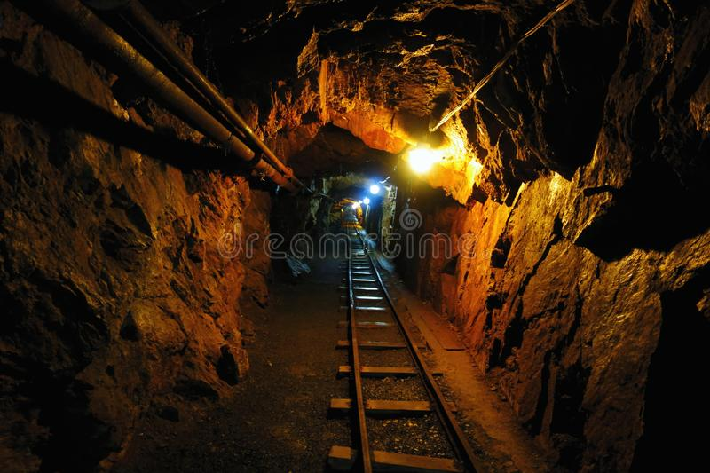 Old Uranium mine royalty free stock image