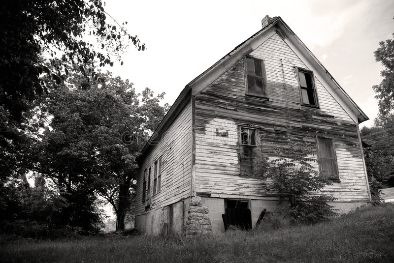 Old Vacant House Royalty Free Stock Images