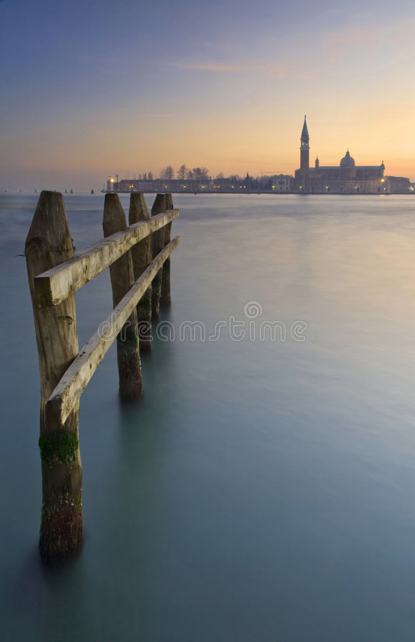 Download Venice city skyline stock photo. Image of waterfront, italian - 8437078