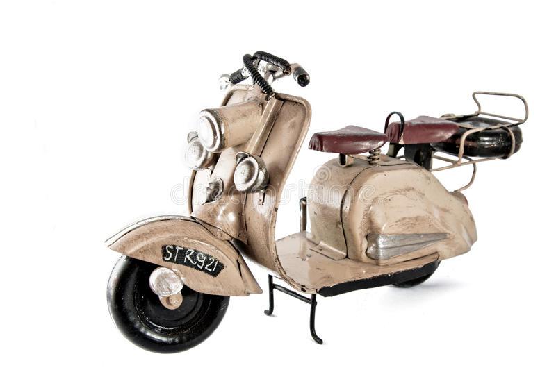 The old vespa royalty free stock photos