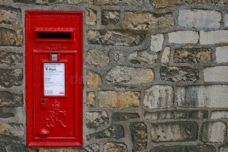 Download Old Victorian English Post Box Stock Image - Image: 4135679