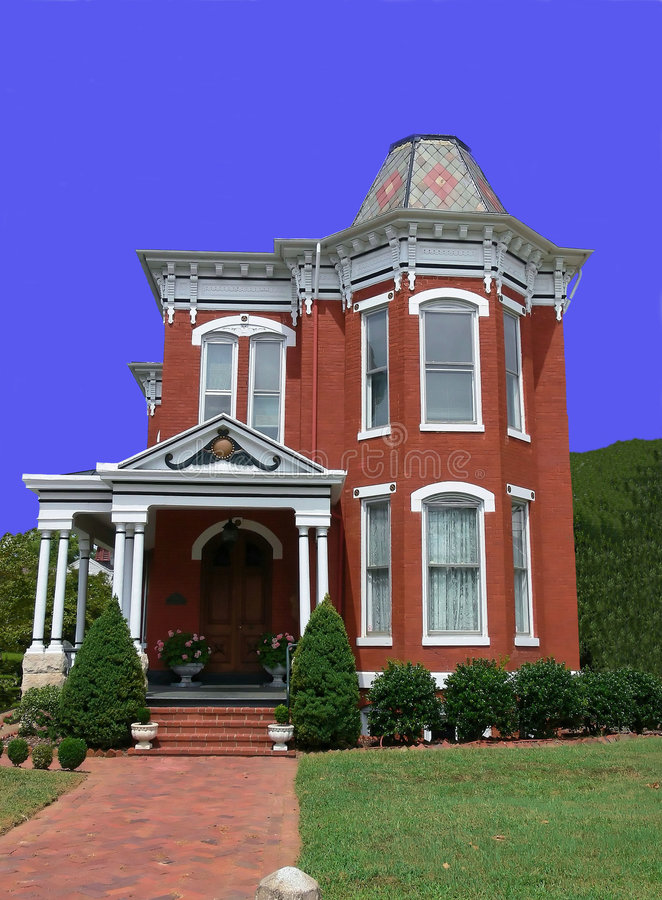 Download Old Victorian house stock image. Image of clean, town - 2581769