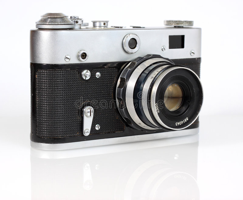 Download Old Viewfinder  Photo Camera Stock Photo - Image: 8984354