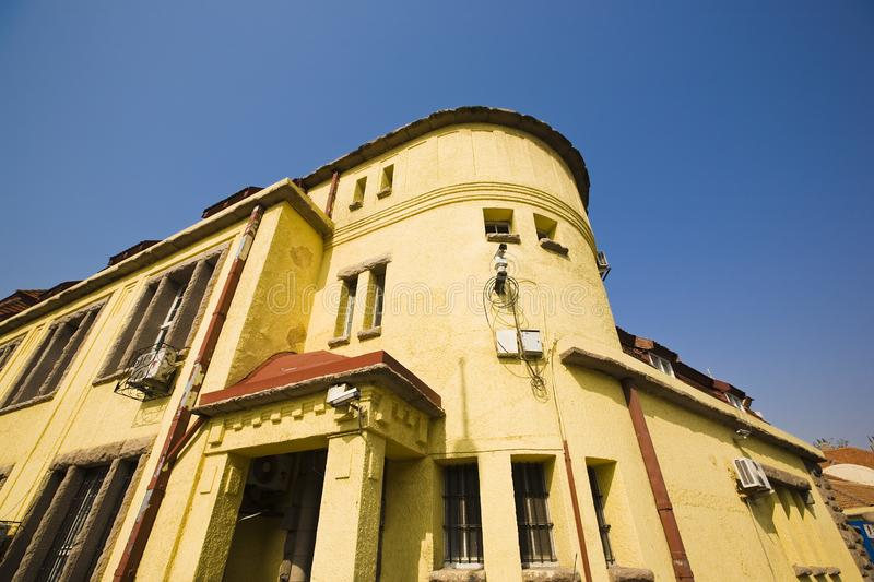 Download Old villa stock photo. Image of mansion, blue, yellow - 9401422