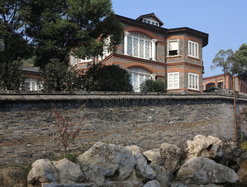 Old Villa Stock Photo
