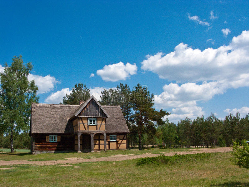 Old Village House In Poland Stock Photo - Image of vintage ...