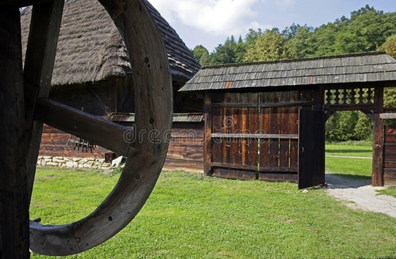 Old village near Sanok. stock photos