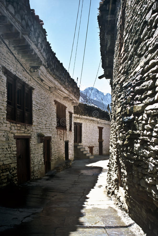Old Village, Nepal Stock Images