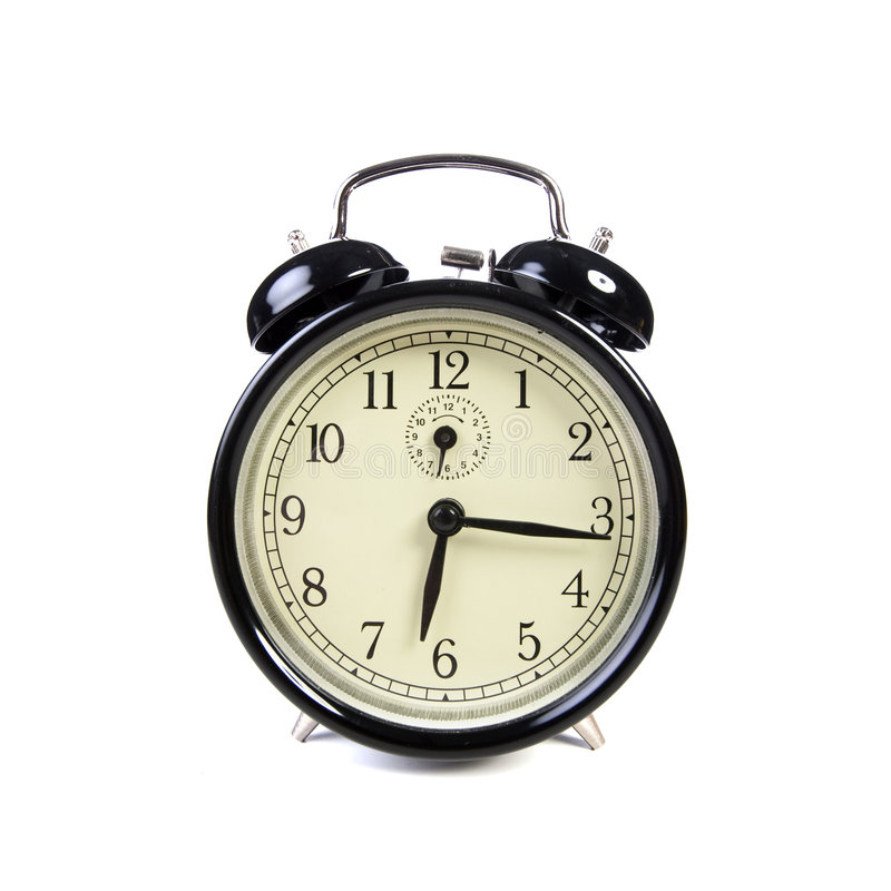 download old vintage alarm clock ringing stock photo image
