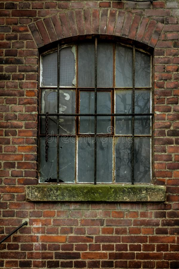 Old vintage brick wall stock images