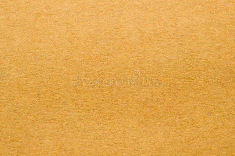 Old vintage brown yellow paper texture or background stock photo