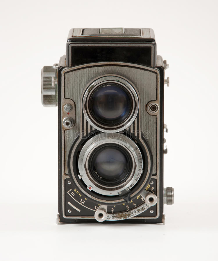 Free Old Vintage Camera Royalty Free Stock Photos - 40345768