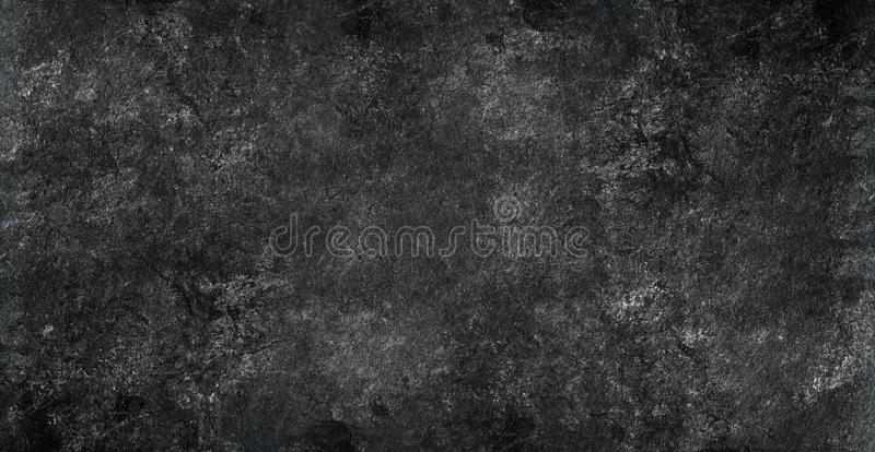 Old vintage chalkboard grunge texture background. Banner