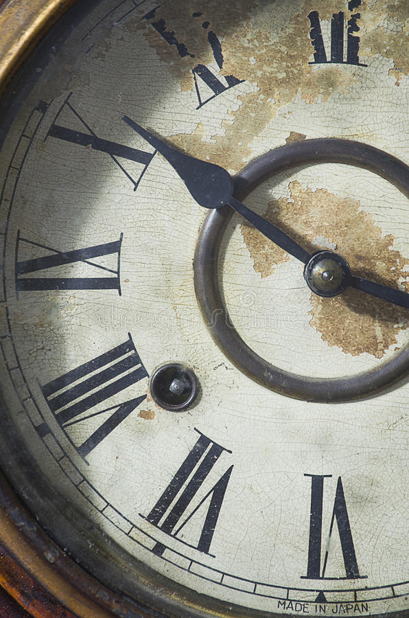 Old Vintage Classic Clock royalty free stock images