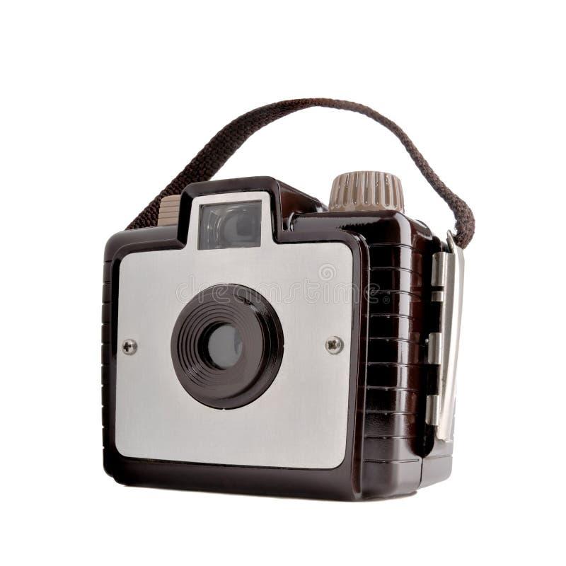 Old vintage film camera stock image