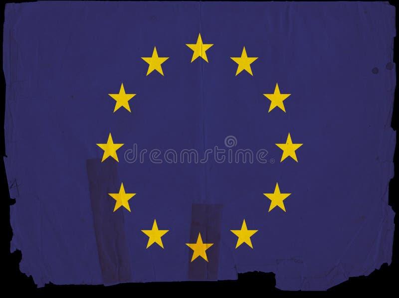 Download Old Vintage Flag European Union Stock Illustration - Image: 16921313
