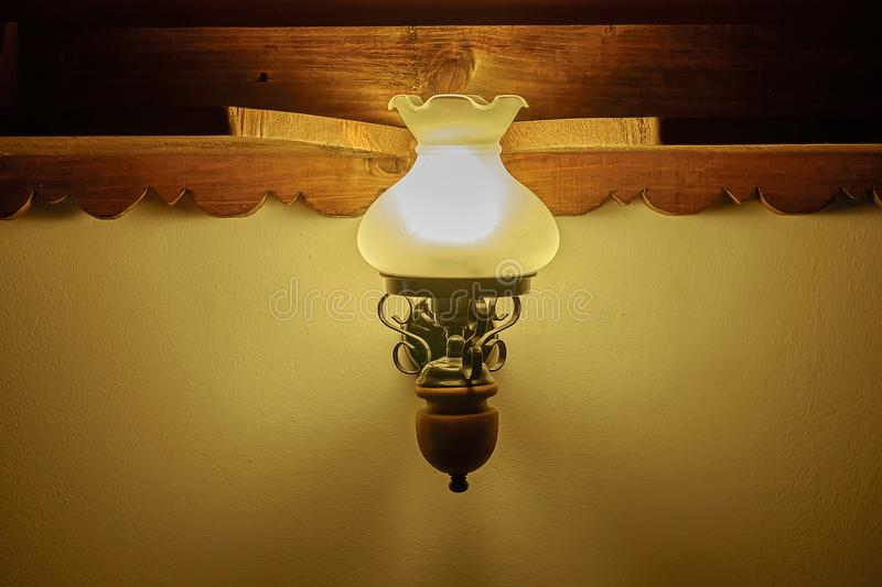 Old vintage lamp in the house 1 royalty free stock photography