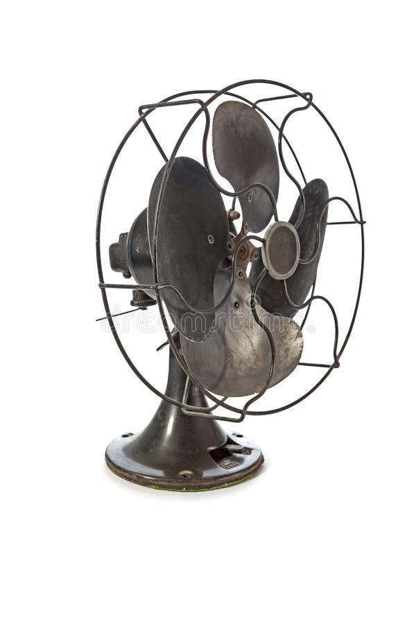 Download Old vintage metal fan stock photo. Image of blades, object - 23185630