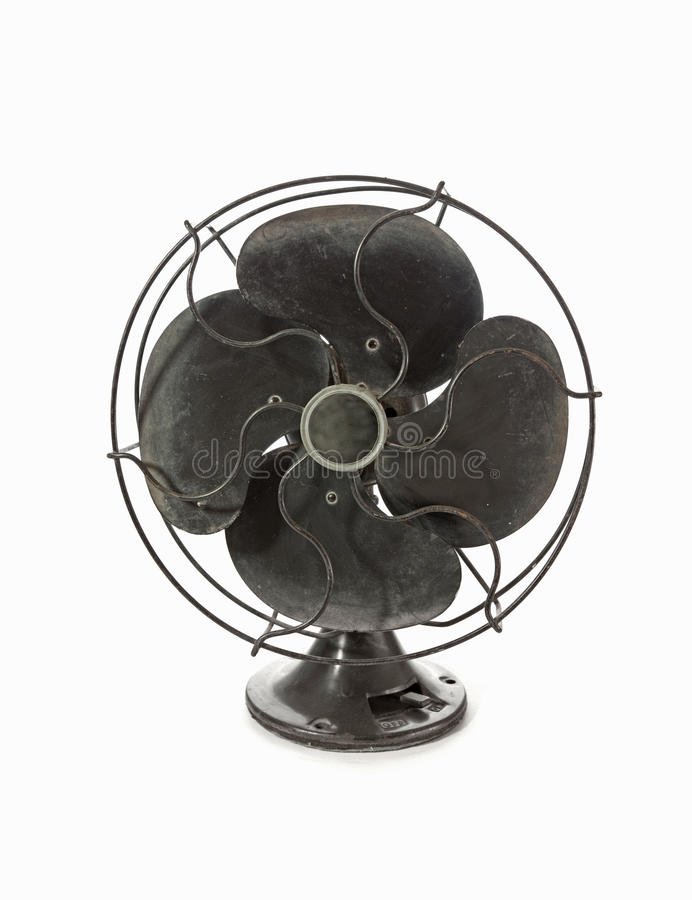 Old Vintage Metal Fan Royalty Free Stock Images