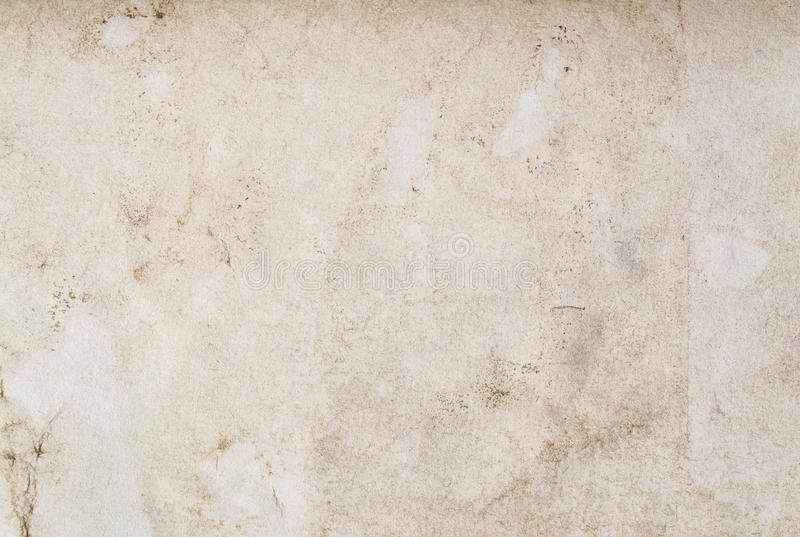 Old vintage paper texture background. High-quality photo texture of old vintage paper with scuffs stock images