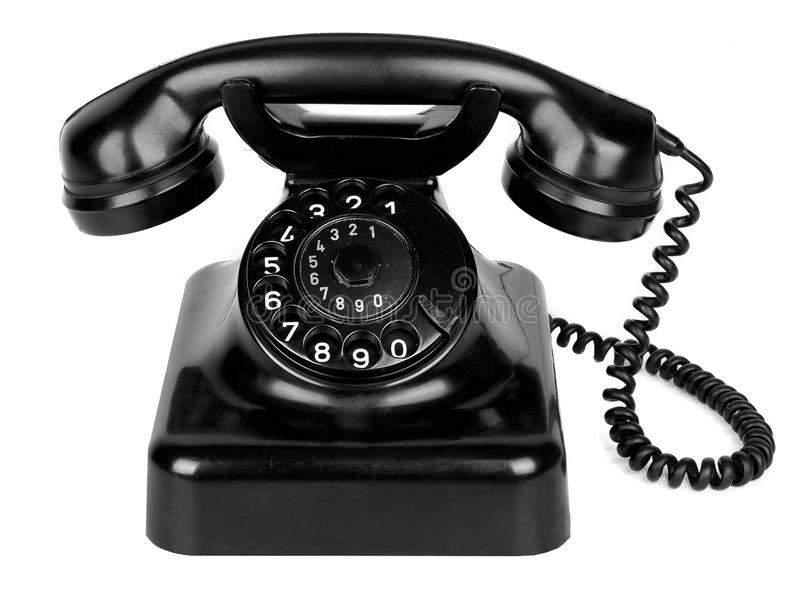 Download Old vintage phone stock photo. Image of conversation - 31556668