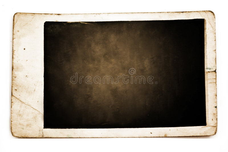 Old vintage photo royalty free stock photography