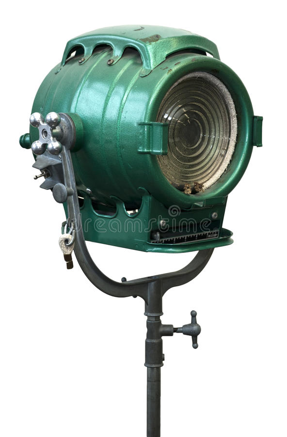 Download Old Vintage Portrait Studio Light Lamp Stock Photo - Image: 18659232