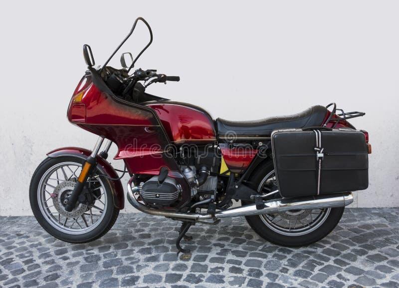 Old Vintage retro Motor Bike royalty free stock photos