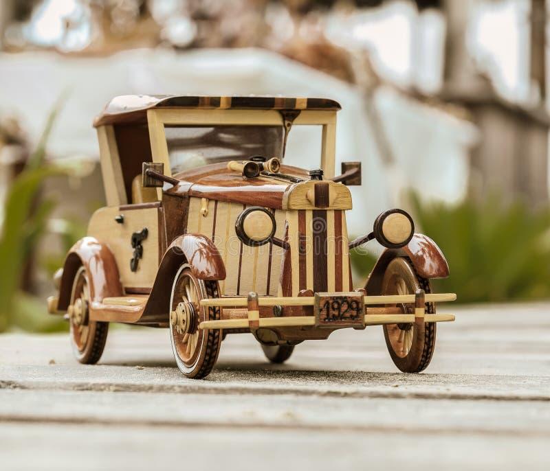 Old Vintage Retro Style Handmade Car Model Stock Photo - Image of ...