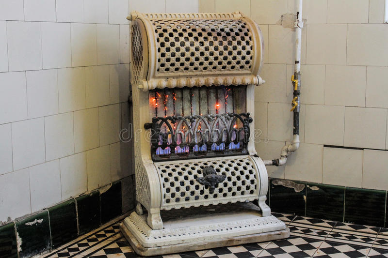 Old, vintage stove royalty free stock photos