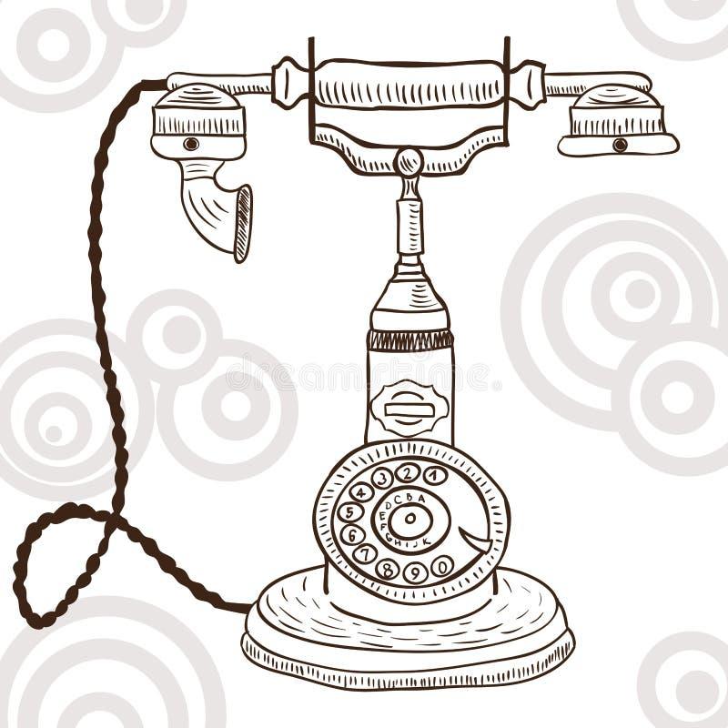 Download Old Vintage Telephone - Retro Illustration Stock Vector - Image: 26079479