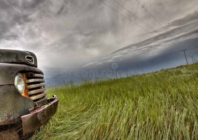 Old Vintage Truck Stock Photography